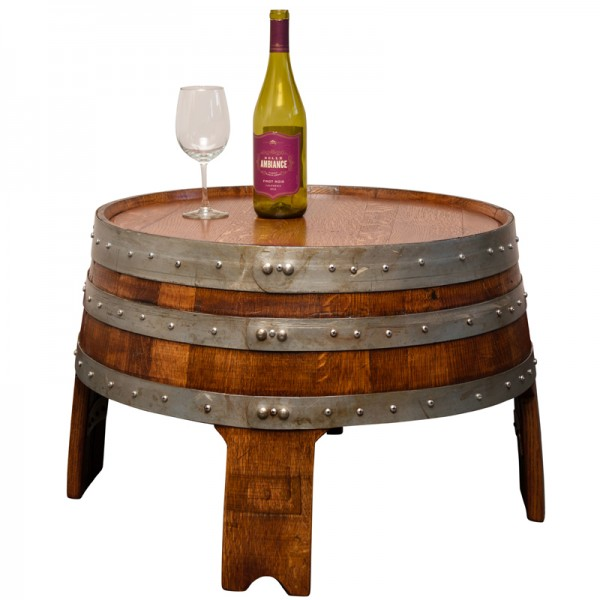 sonoma barrel coffee table napa east - wine country accents