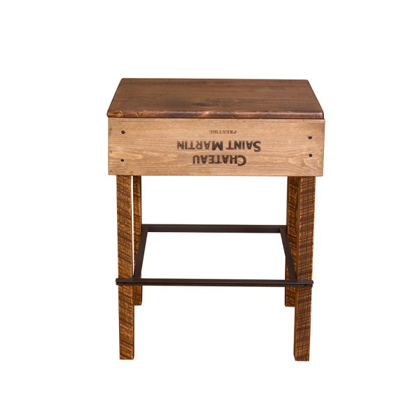 Vino Vintage Crate Stools Napa East Collection Wine