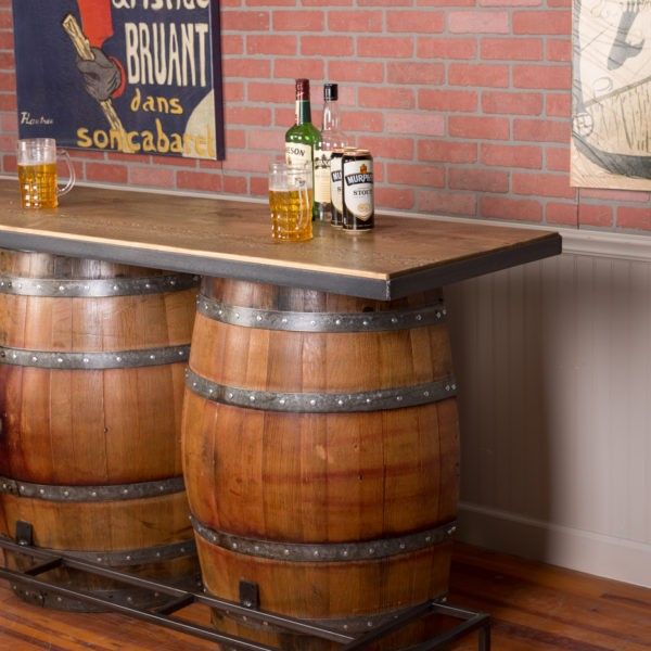 Double Half Barrel Bar Napa East Wine Country Accents