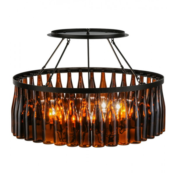 Wine bottle chandelier 145354 meyda tiffany wine country accents 145354 meyda tiffany chandelier aloadofball Image collections