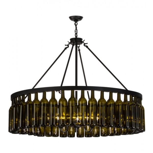 152072 Wine Bottle Chandelier Meyda Wine Country Accents – Wine Bottle Chandelier