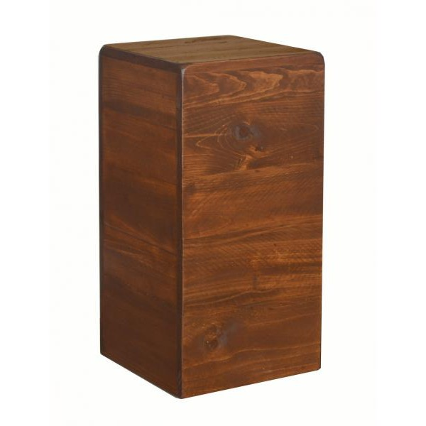 2 Day Designs Pine Cube Stools Wine Country Accents