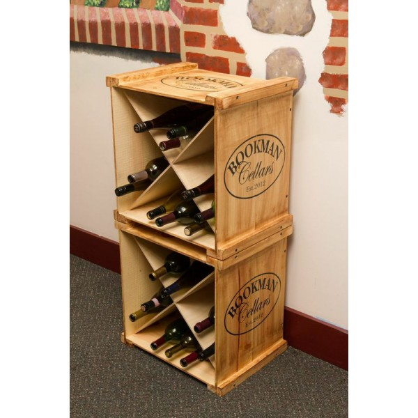 Wine crate rack cosmecol What to do with wine crates