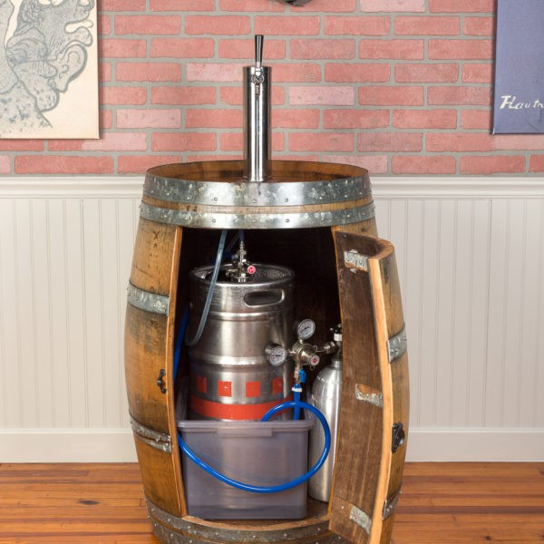 Wine Barrel Kegerator Napa East Collection Wine Country