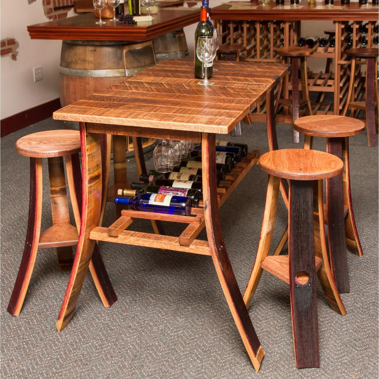 Wine Barrel Pub Tables Gallery - Table Decoration Ideas