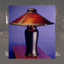 001 Milkcan Table Lamp by the Mica Lamp Company