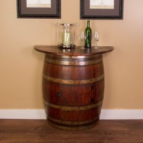 Half Barrel Wall Cabinet Napa East Collection