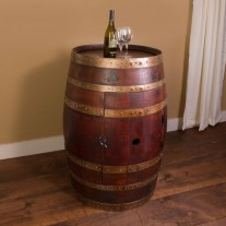 Wine Barrel Cabinet Napa East Collection