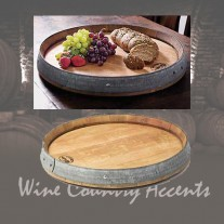 102 Wine Barrel Lazy Susan Wine Barrel Creations