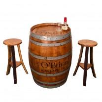Irish Pub Whiskey Barrel Set Napa East Collection