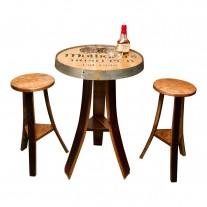 Personalized Irish Pub Table Set Napa East Collection
