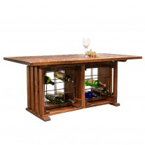 Coffee Table with Wine Rack Napa East
