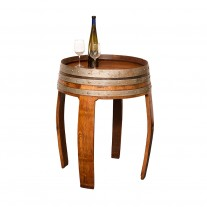 Sonoma Wine Barrel Tall Table Napa East Collection
