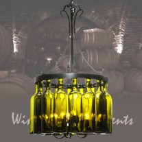 114514 Tuscan Wine Bottle Chandelier Meyda Lighting