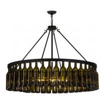 152072 Wine Bottle Chandelier Meyda
