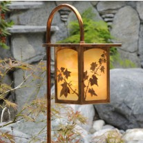 English Ivy Garden Landscape Lighting