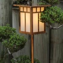 Window Pattern Garden Light