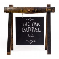 Wine Chalkboard Sign by The Oak Barrel Company