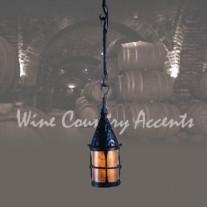 LF200P Cottage 3-Hook Pendant Vintage Iron by Mica Lamps
