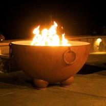 Nepal Gas Fire Pit Art