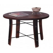 4065 Round Stave Coffee Table 2-day designs