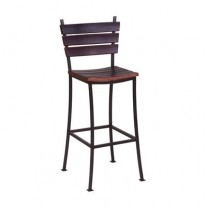 "Stave Back Bar Stools 24"" 2-Day Design"