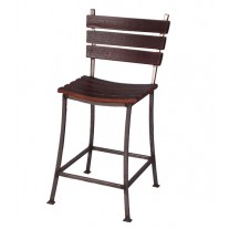 4087 Stave Back Chair Stool 2 Day Design