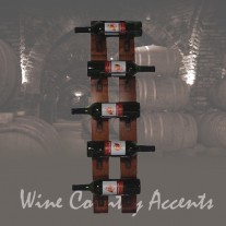 4100 5 Bottle Wall Rack by 2 Day Designs