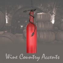 65453 Tuscan Wine Bottle Mini Pendant by Meyda Tiffany