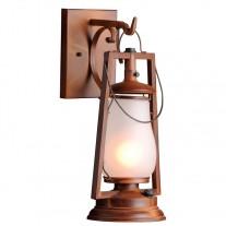 Sutter's Mill Lantern 49er Hook Arm Mount Rustic Lantern