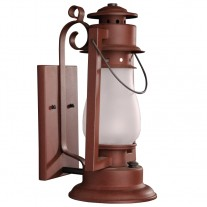 Sutter's Mill Lantern Pioneer Scroll Arm Mount
