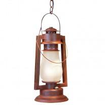772-S-4 Pioneer Chain Mount Rustic Lantern Sutter's Mill