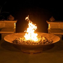 Asia Gas Fire Pit Art