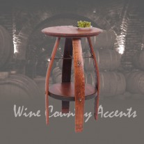 819T Bistro Wine Barrel Table by 2-Day Designs