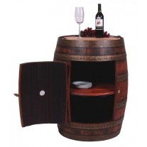 891 Full Wine Barrel Cabinet 2-Day Designs