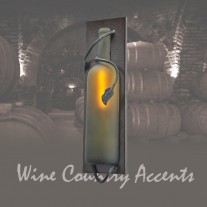99586 Tuscan Wine Bottle Wall Sconce Meyda Tiffany