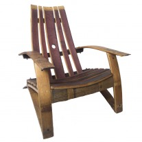 Classic Barrel Stave Adirondack Chair