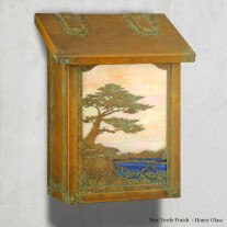 Monterey Cypress Vertical Design America's Finest Mailboxes