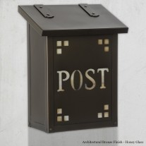 Pasadena Post Vertical Design America's Finest Mailboxes