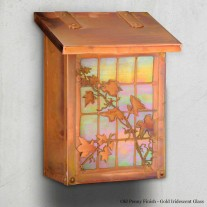 English Ivy Vertical Design America's Finest Mailboxes