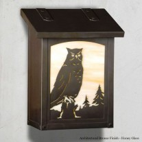 Owl Vertical Design America's Finest Mailboxes