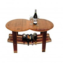 Barrel Head Coffee Table Napa East