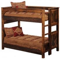 Barnwood Bunk Beds Fireside Beds