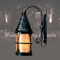 LF201 SMALL Cottage Lantern Vintage Iron by Mica Lamps Company