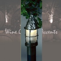 LF201-Q-BZ Small Bronzed Cottage Post by Mica Lamps