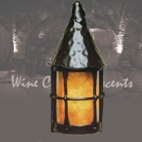 LF201F Cottage Flush to Wall Lantern Vintage Iron by Mica Lamps