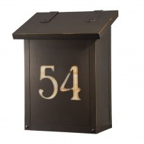 Vertical Design & House Numbers America's Finest Mailboxes
