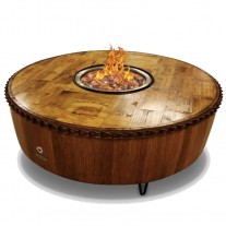Moderna Wine Barrel Fire Pit Vin De Flame