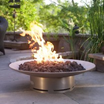 Bella Vita Gas Fire Pit Art