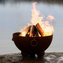 Nepal Fire Pit Art